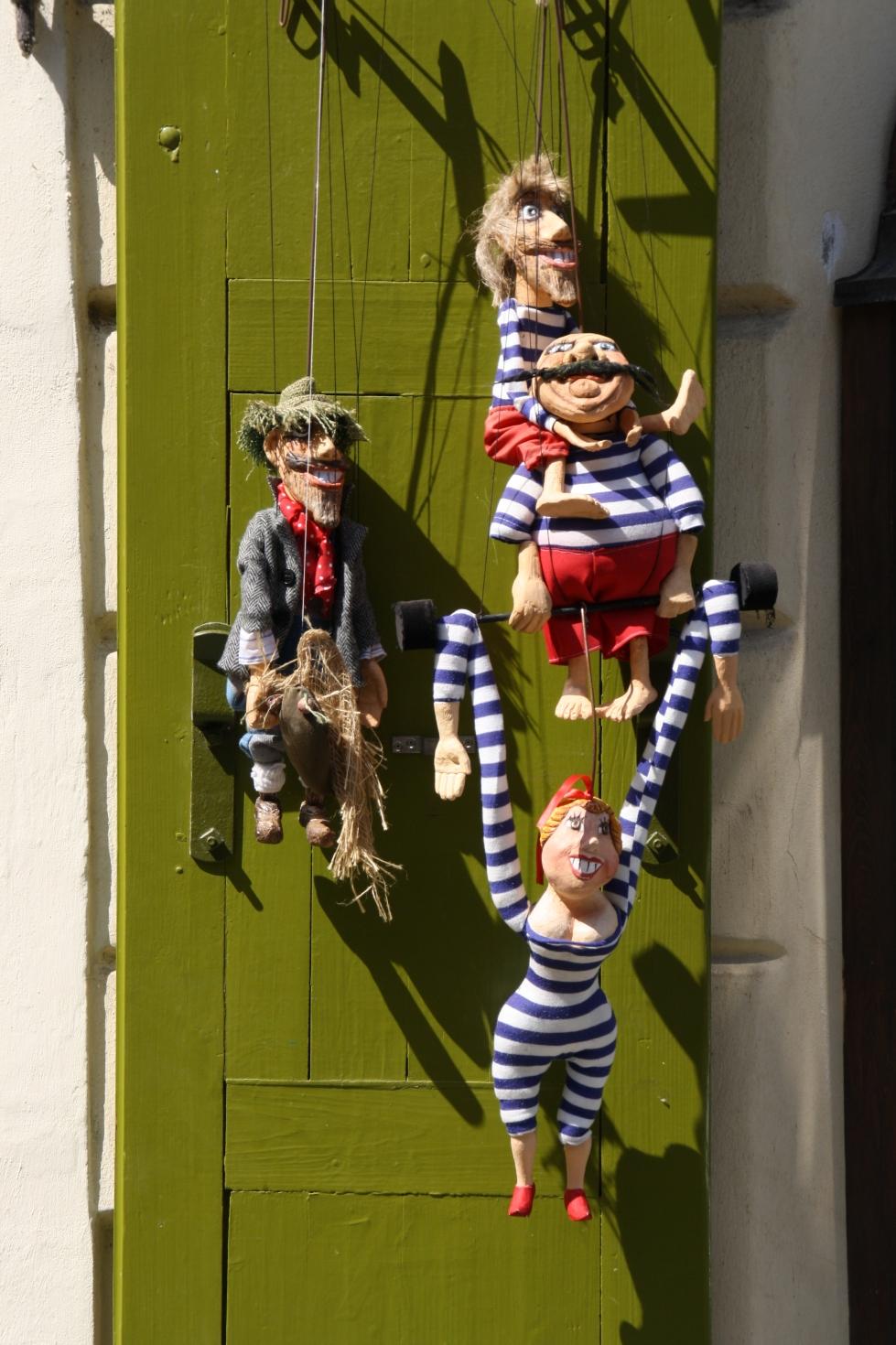 Marionetten in der Puppentheaterstadt Prag