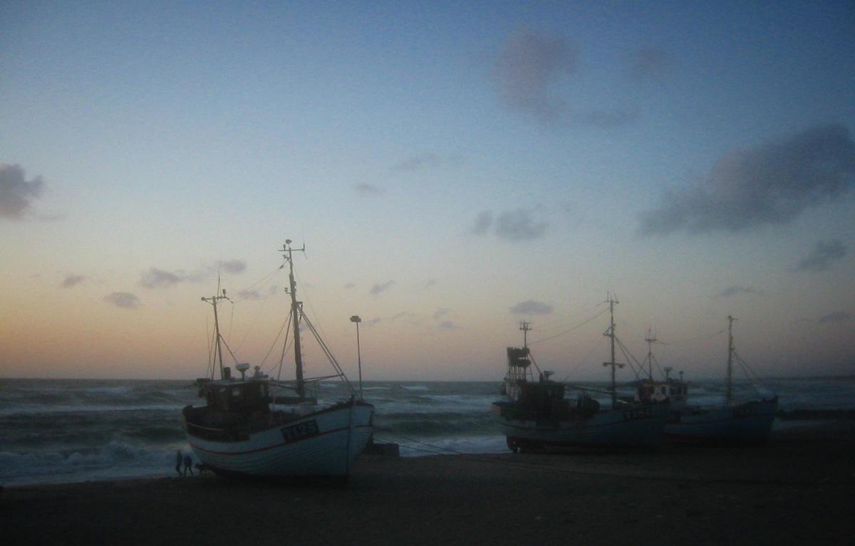 Abend an der Nordsee