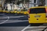 Taxis in Wartestellung