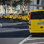 Taxis in Wartestellung