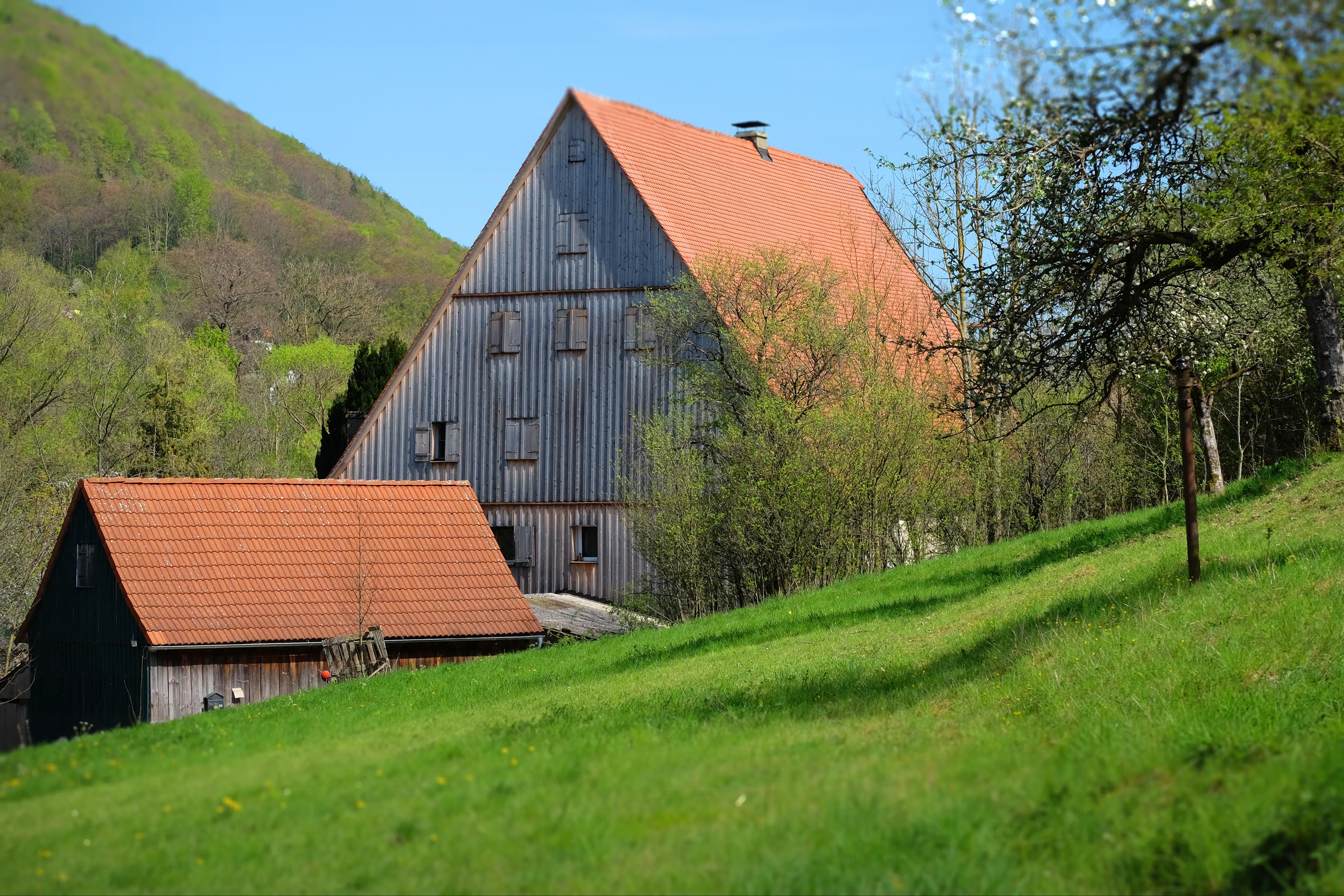Bauernhaus in der Hersbrucker Alb
